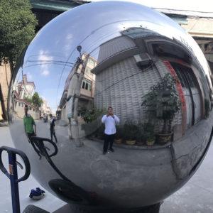 2000mm Large Metal Garden Spheres Stainless ...