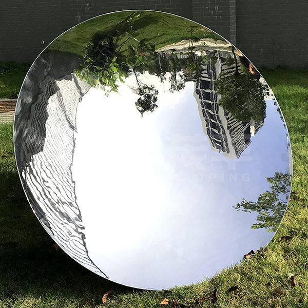 Hot Sale Art Mirror Stainless Steel Wall Sculpture