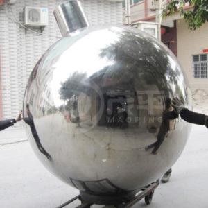 1500mm Large Stainless Steel Garden Spheres ...