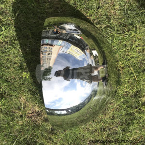 Polished Mirror Stainless Steel Quarter Ball