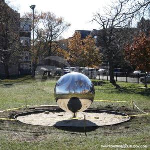 2200mmStainless steel sphere