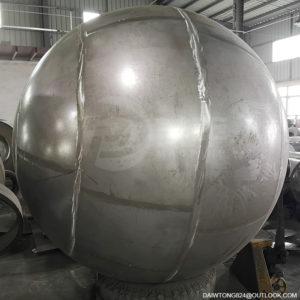 2500mm stainless steel sphere