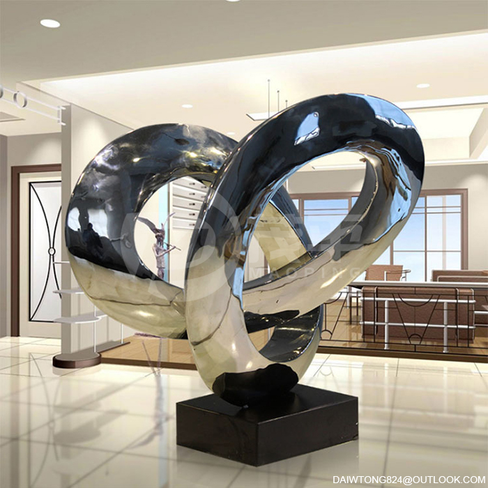 Steel Sculpture for Interior Decoration
