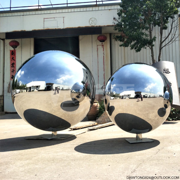 AISI304 1600mm 1300mm large stainless steel hollow sphere