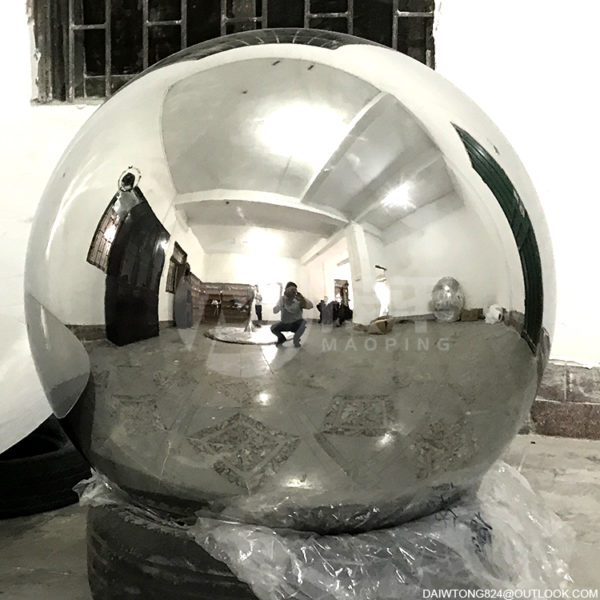 900mm aisi316L mirror polished stainless steel hollow sphere