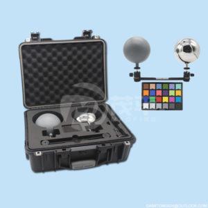 12.6cm hdri VFX ball chrome grey ball