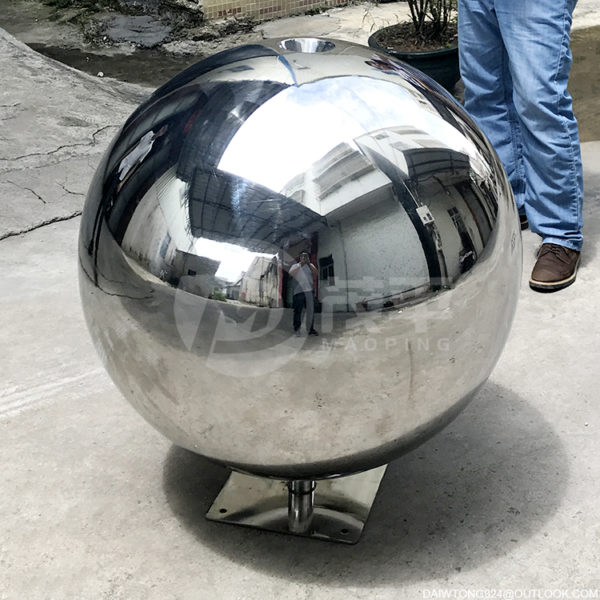 600mm stainless steel water Features Fountain sphere