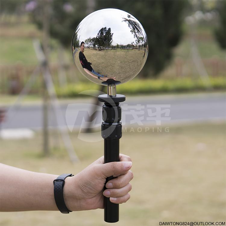 12.6cm hdri vfx Chrome ball Lighting ball Environment ball