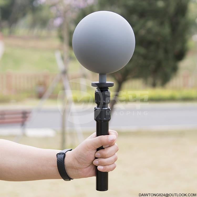 12.6cm hdri vfx Grey 18% ball