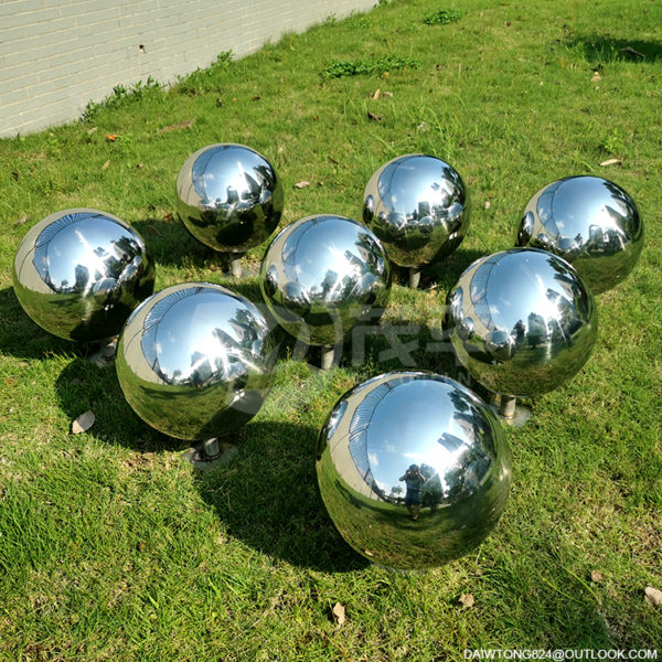 gazing balls garden stainless steel mirror sphere