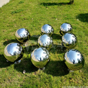 gazing balls garden stainless steel mirror sphere