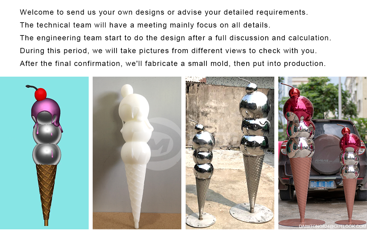 3D Printing Metal Sculpture