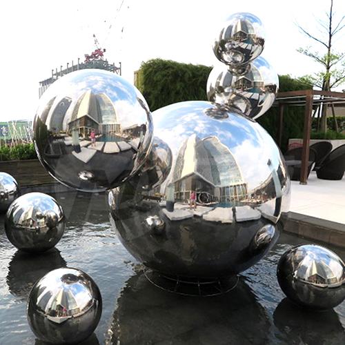 Combined sphere sculpture
