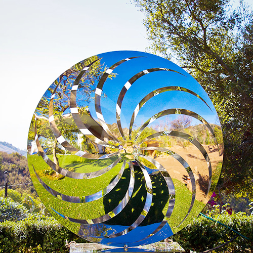 Pinwheel sculpture