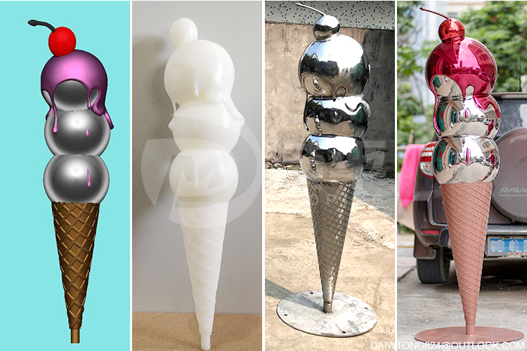 The impact of 3D printing on sculpture production