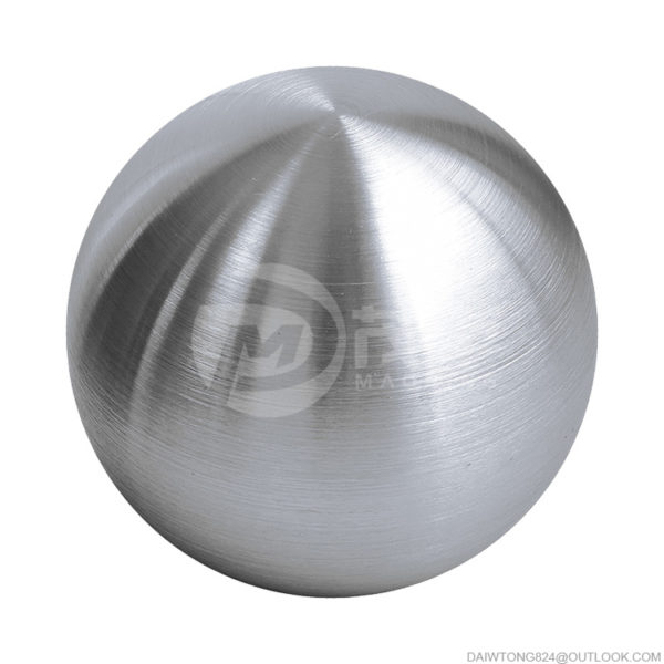 120mm M8 Holes Brushed Polished Stainless Steel Hollow Spheres