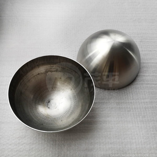 """12"""" 24"""" 36"""" steel hemisphere Brushed metal dome"""
