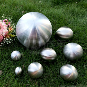 Brushed Stainless Steel Hollow Balls