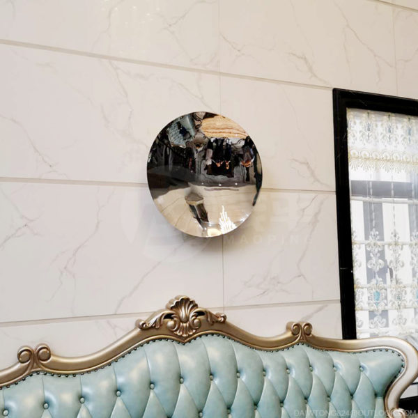 Anish Kapoor 24 inch stainless steel wall mirror