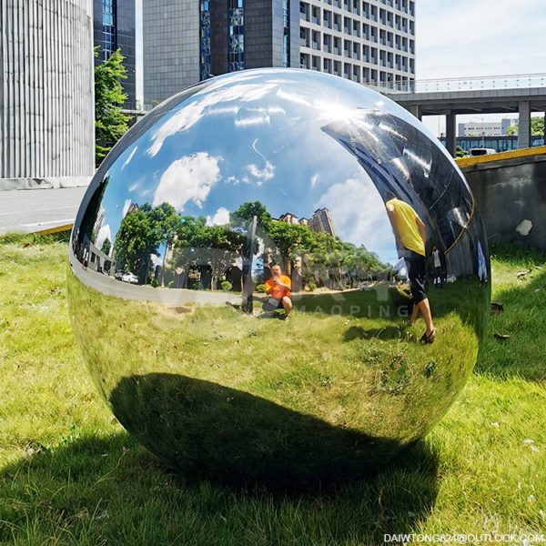 40 inches gazing balls for gardens 1000mm polished steel sphere