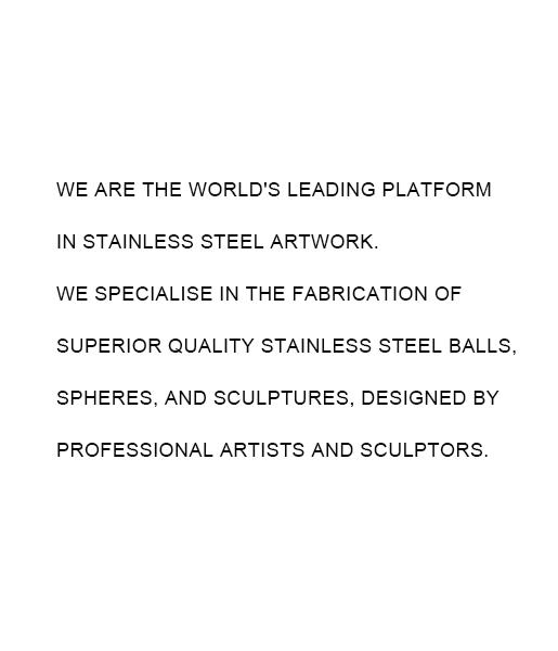Stainless steel sculpture-6
