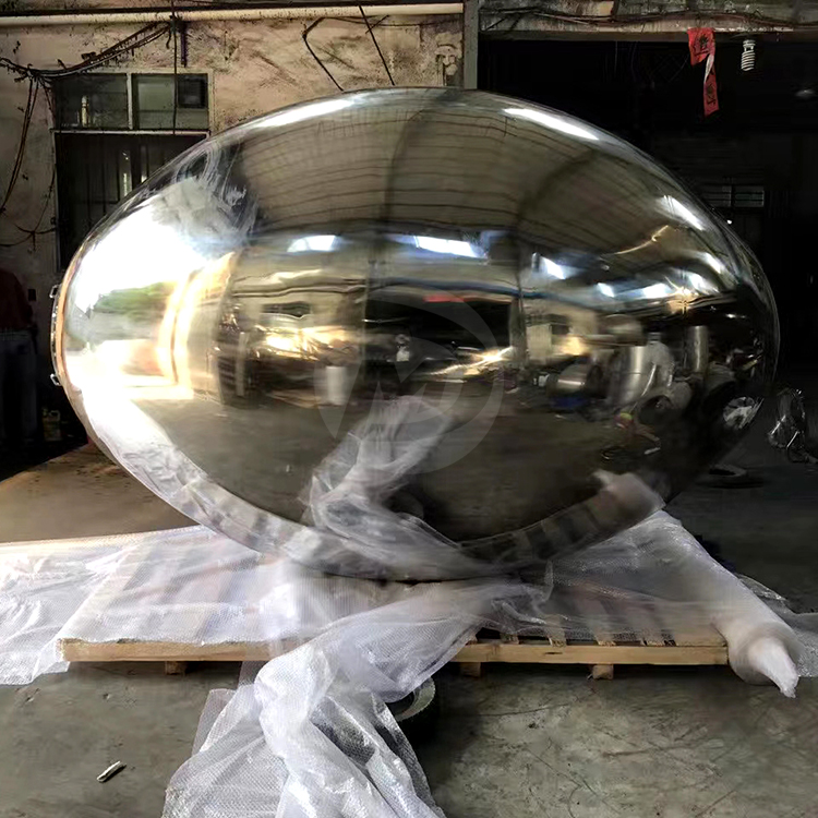 STAINLESS STEEL OVAL SPHERE