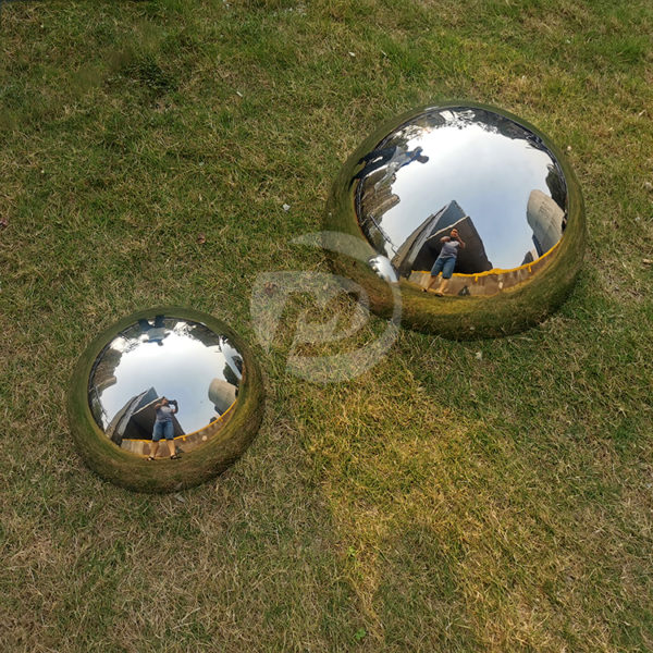 300mm 500mm Stainless steel Double sided polished hemisphere