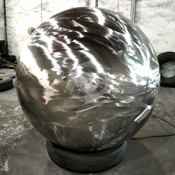 Brush Sand surface Stainless steel hollow sphere