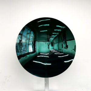 Color polished mirror stainless steel circular concave disc