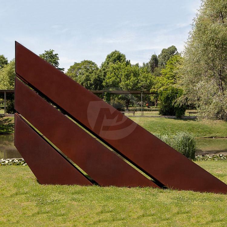 Outdoor Garden Landscape Corten Steel Sculptures