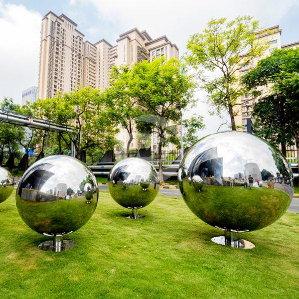 100cm 130cm 160cm large steel Garden sphere metal ball