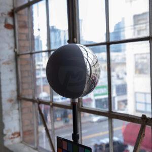 20CM chrome grey ball vfx ball
