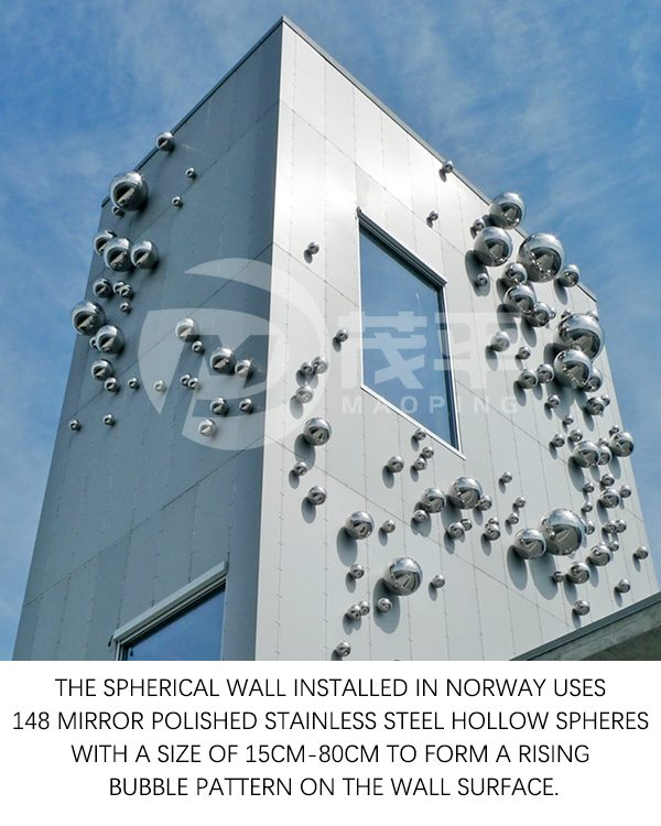 Stainless steel ball wall1